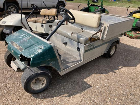 Club Car, Carryall w/Aluminum Dump Bed, Gas Engine, S#RG0603591060, Condition Unknown