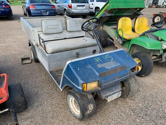 Club Car Carryall-2Utility Vehicle w/Aluminum Dumpbed,Gas MotorCondition-Unknown