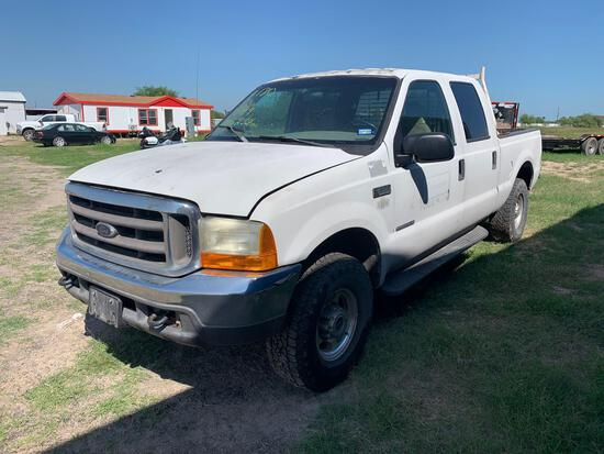 2000 Ford F-250 Pickup Truck, VIN # 1FTNW21F2YED73493