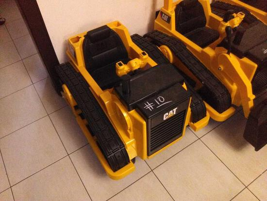 Children Electric Car Yellow (Cat. Bull Dozer)