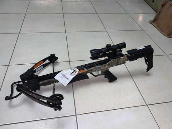 X-Force Blade Crossbow Model# 20244 Power Stroke: 12 1/2'' String Length: 33 3/4'' Cable Length: 18