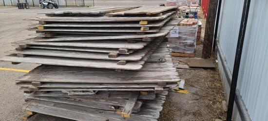 Group of Wooden Fence Panels (25 +/-)