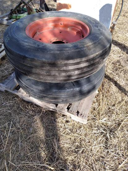 (2) Tires