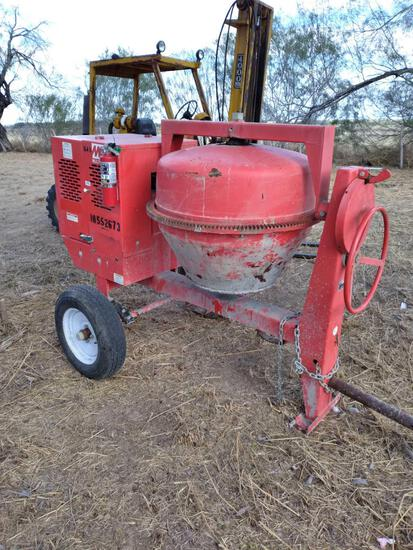 Multiquip MQ Concrete Mixer, Portable w/Steel Drum