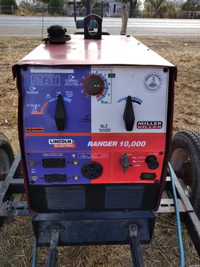Lincoln Ranger 10,000 Welder w/Trailer