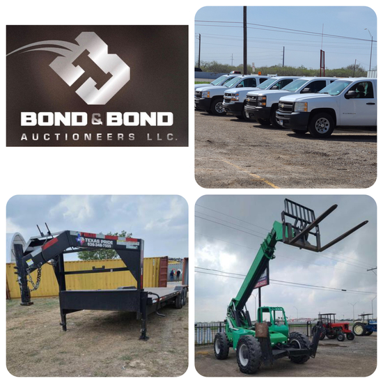 FLEET VEHICLES, TRAILERS , MACHINERY, CONSIGNMENTS