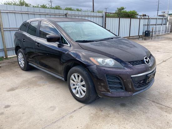 2011 Mazda CX-7 Multipurpose Vehicle (MPV), VIN # JM3ER2B54B0368465