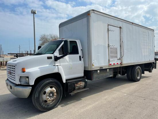 2004 GMC C7500 Truck, VIN # 1GDJ7C1C44F504351