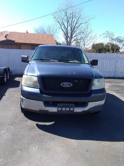 2004 Ford F-150 Pickup Truck, VIN # 1FTPX12594NB30862