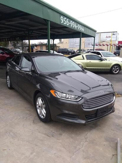 2016 Ford Fusion Passenger Car, VIN # 3FA6P0H78GR292780