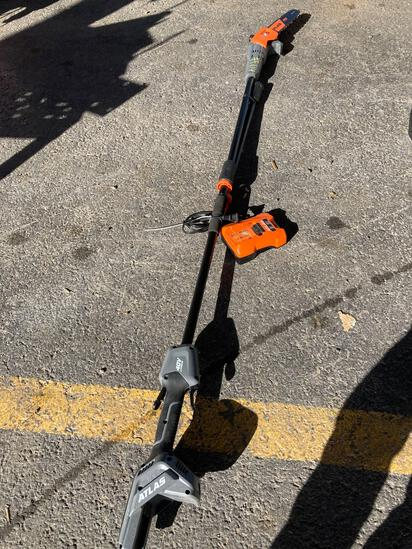Atlas 10in Battery Polesaw w/Charger