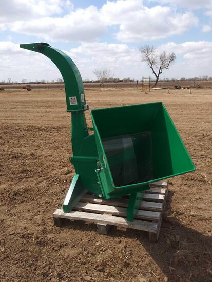 Unused 4'' Wood Chipper w/PTO Drive Shaft Compactor