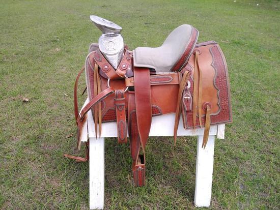 New 2021 Horse Saddle w/Stainless Steel Saddle Tree