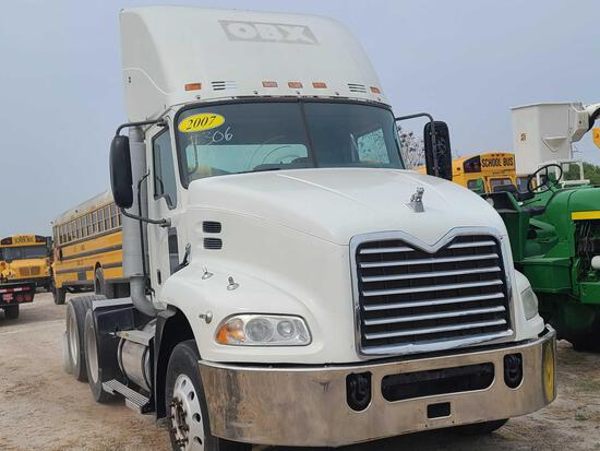 2007 Mack CXP613 Truck, VIN # 1M1AP02Y37N001188