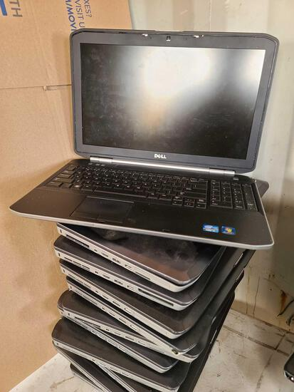 (12) Dell Laptops