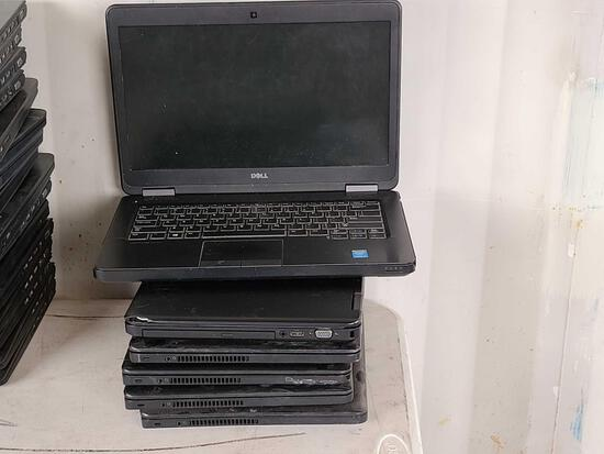 (6) Dell Laptops, (2) Chargers