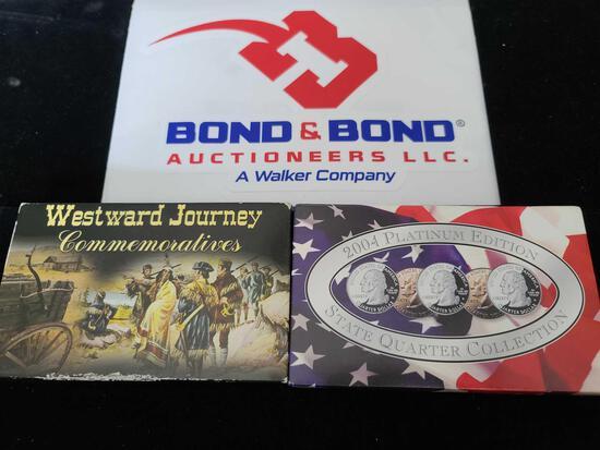 2004 Platinum Edition State Quarter Collection & Westward Journey Commemoratives