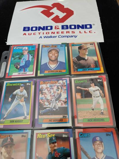 (9) Baseball Collectors Playing Cards