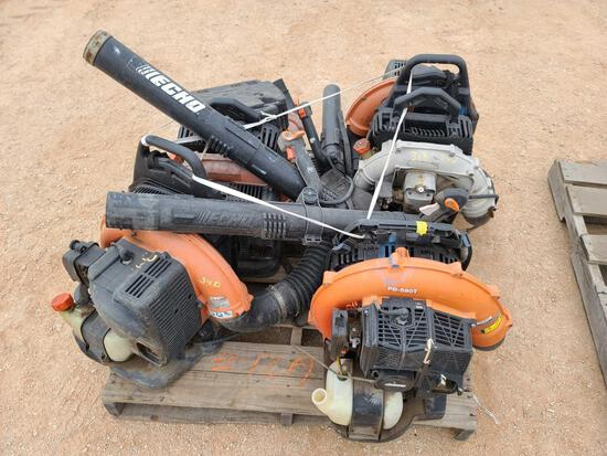 Group of Echo Blowers
