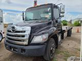 2018 Hino 268 Roll back Truck, VIN # 5PVNJ8JP9J4S52188