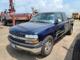 2000 Chevrolet Silverado Pickup Truck, VIN # 1GCEC19VXYZ142784