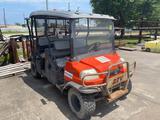 Kubota RTV Diesel 4x4 Off/On Road Utility Vehicle