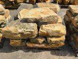 Pallet w/Decorative Stones