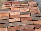 Pallet w/Decorative Bricks
