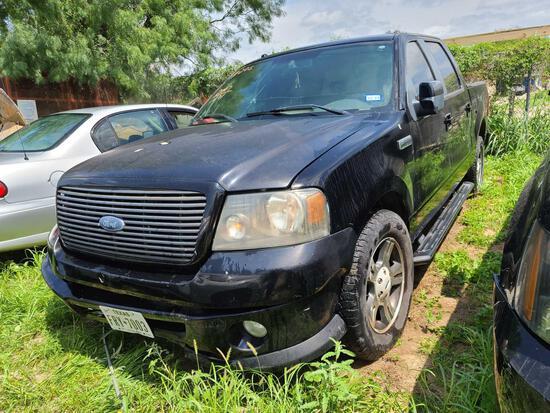 2007 Ford F-150 Pickup Truck, VIN # 1FTRW12W07KD01671