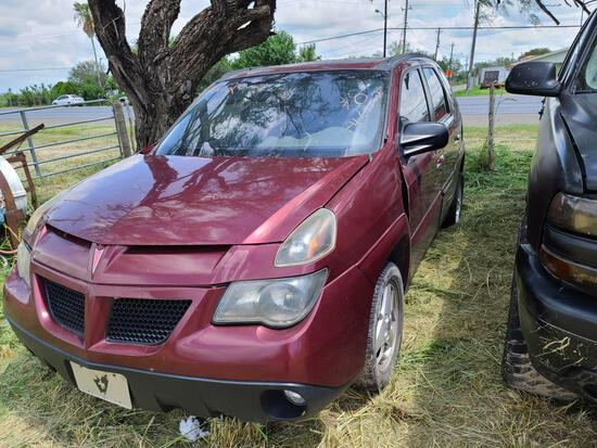 2004 Pontiac Aztek Multipurpose Vehicle (MPV), VIN # 3G7DA03E14S569555