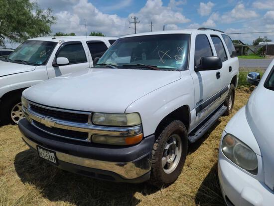 2003 Chevrolet Tahoe Multipurpose Vehicle (MPV), VIN # 1GNEC13Z93R166585