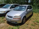 2007 Chevrolet Aveo5 Passenger Car, VIN # KL1TD66627B791881