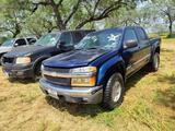 2004 Chevrolet Colorado Pickup Truck, VIN # 1GCDS136448159600