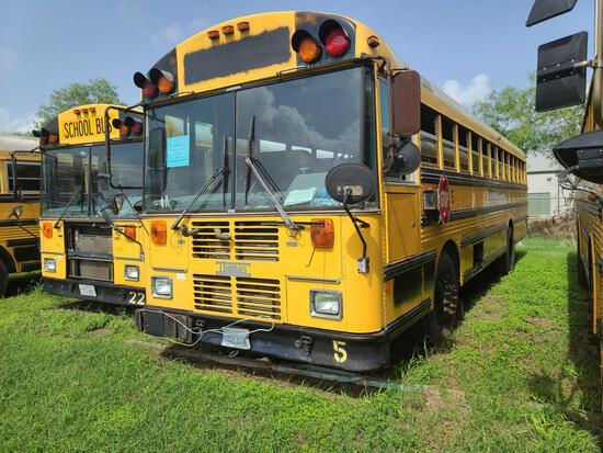 """""""F-1"""" 2003 Thomas Built Buses Saf-T-Liner MVP-EF Bus, VIN # 1T88N3D2131128097"""