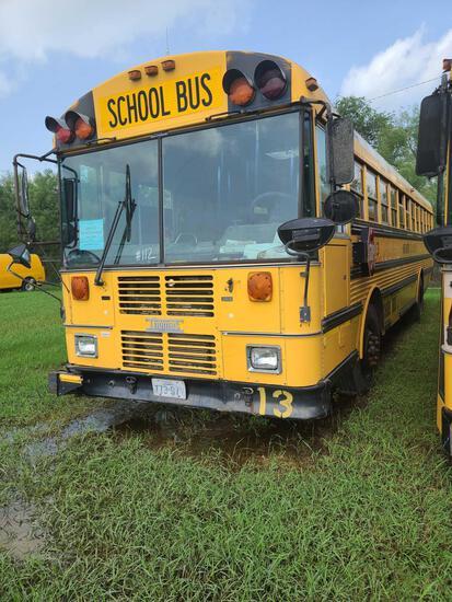 """""""F-12"""" 2000 Thomas Built Buses Saf-T-Liner MVP-EF Bus, VIN # 1T88N3B28Y1084979"""