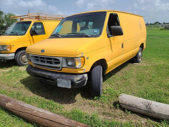 """""""F-14"""" 1997 Ford Econoline Van, VIN # 1FTFE24L5VHB63828"""