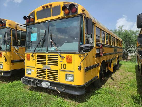 """F-2"" 2002 Thomas Built Buses Saf-T-Liner MVP-EF Bus, VIN # 1T88M3B2X21116101"