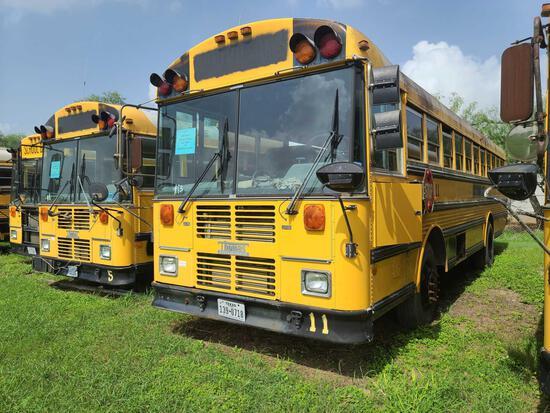 """F-3"" 2002 Thomas Built Buses Saf-T-Liner MVP-EF Bus, VIN # 1T88M3B2121116102"