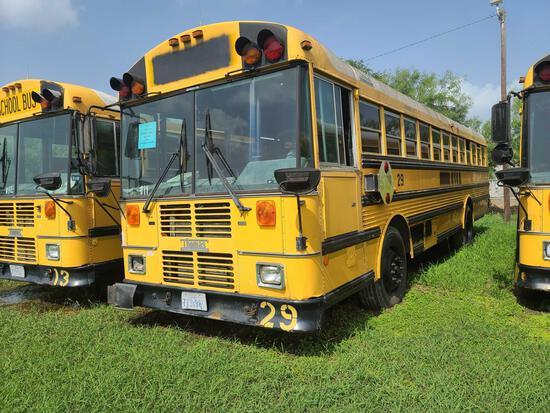"""""""F-4"""" 2000 Thomas Built Buses Saf-T-Liner MVP-EF Bus, VIN # 1T88N3B21Y1084984"""