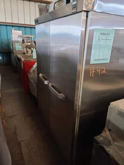 ''Pallet 2-K'' (1) Reach In Refrigerator...