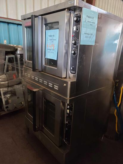 ''Pallet 4-K'' (1) Double Stacked Oven...
