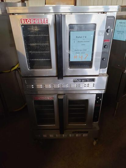 ''Pallet 7-K'' (1) Double Stacked Oven...