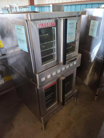 ''Pallet 8-K'' (1) Double Stacked Oven...