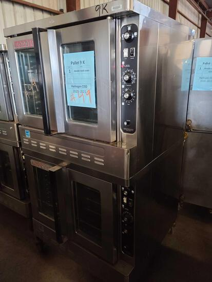 ''Pallet 9-K'' (1) Double Stacked Oven...