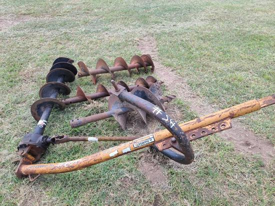 Tractor Post Hole Digger Attachments