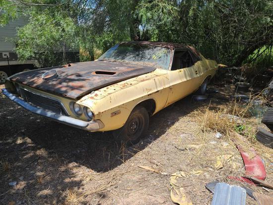 1973 Dodge Challenger Sports Car, VIN# JH23G3B490822
