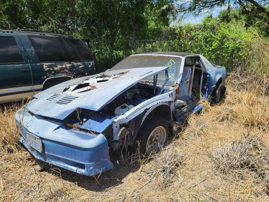1985 Pontiac Trans Am VIN#G2???082H26L228629