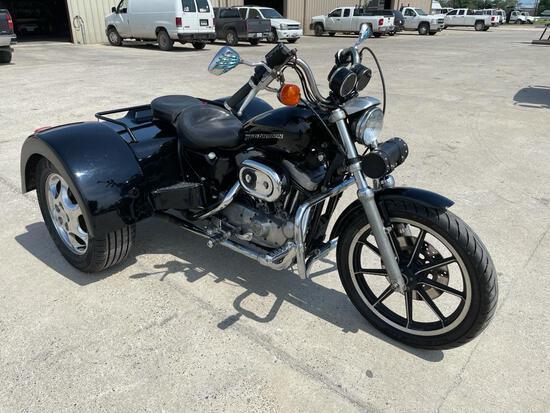1995 Harley-Davidson XL 1200 Motorcycle, VIN # 1HD1CAP17SY223199