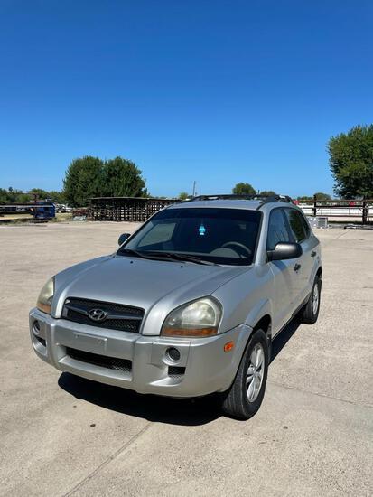 2009 Hyundai Tucson Multipurpose Vehicle (MPV), VIN # KM8JM12B89U987929