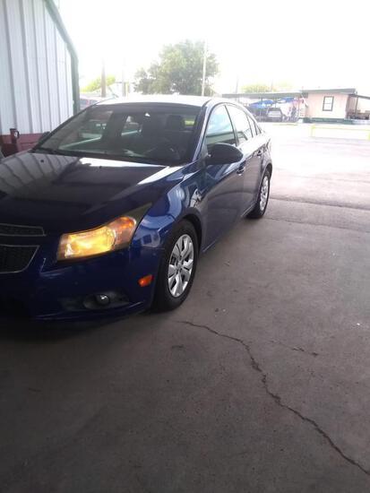 2012 Chevrolet Cruze Passenger Car, VIN # 1G1PC5SH4C7371866